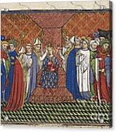 Coronation Of Charles Vi Acrylic Print