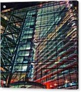 Corporation Acrylic Print