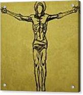 Corpus Christi And Dove Acrylic Print