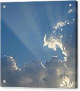 Corpuscular Rays Acrylic Print