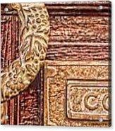 Correo In San Miguel De Allende Acrylic Print