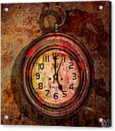 Corroded Time Acrylic Print