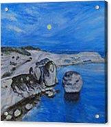 Corsica Bonifaccio Evening Acrylic Print