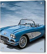 Corvette Blues Acrylic Print