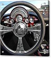 Corvette C1 - In The Driver's Seat Acrylic Print