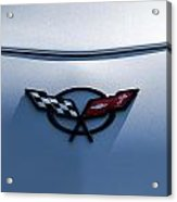 Corvette C5 Badge Acrylic Print