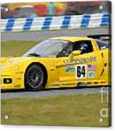 Corvette Gt1 C6 Race Car Acrylic Print