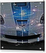 Corvette Is Out Of This World Acrylic Print