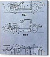 Corvette Patent Acrylic Print