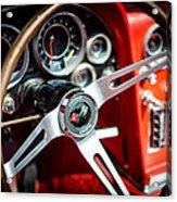 Corvette Steering Wheel Acrylic Print