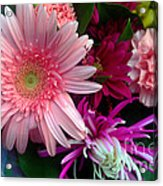 Cosmic Bouquet Acrylic Print