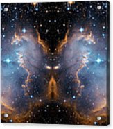 Cosmic Butterfly Acrylic Print