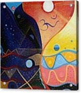 Cosmic Carnival Vlll Aka Sacred And Profane Acrylic Print