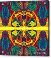 Cosmic Designs Abstract Pattern Artwork Acrylic Print