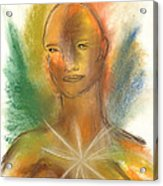 Cosmic Feminine Acrylic Print