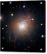 Cosmic Fireworks Acrylic Print