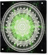 Cosmic Medallians Rgb 1 Acrylic Print