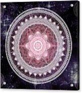 Cosmic Medallions Fire Acrylic Print