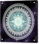 Cosmic Medallions Water Acrylic Print