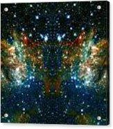 Cosmic Phoenix  Acrylic Print