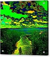 Cosmic River 2 Acrylic Print
