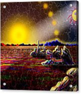 Cosmic Signpost Acrylic Print