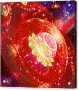 Cosmic Space Station Acrylic Print