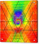 Cosmic Spiral Ascension 01 Acrylic Print