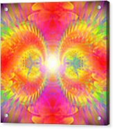 Cosmic Spiral Ascension 02 Acrylic Print