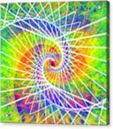 Cosmic Spiral Ascension 03 Acrylic Print