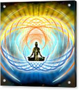 Cosmic Spiral Ascension 04 Acrylic Print