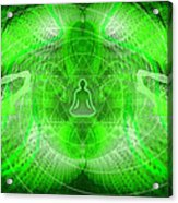 Cosmic Spiral Ascension 24 Acrylic Print