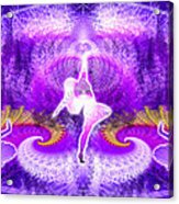 Cosmic Spiral Ascension 27 Acrylic Print