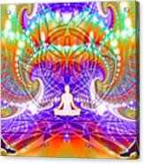 Cosmic Spiral Ascension 60 Acrylic Print