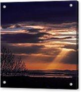 Cosmic Spotlight On Shannon Airport Acrylic Print