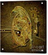 Cosmic Time Egg Acrylic Print