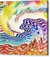 Cosmic Waves Acrylic Print