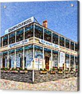 Cosmopolitan Hotel Old Town San Diego Usa Acrylic Print