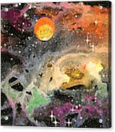 Cosmos Acrylic Print by Wolfgang Finger