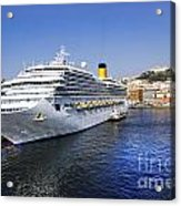 Costa Cruise Ship Acrylic Print