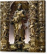 Costa, Pablo 1672-1728. Main Altarpiece Acrylic Print