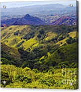Costa Rica Mountains Acrylic Print
