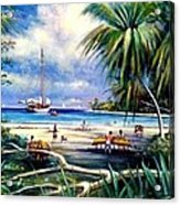 Costa Rica Sailing Acrylic Print