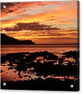 Costa Rica Sunset Acrylic Print
