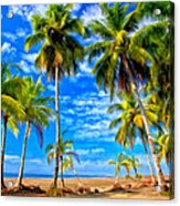 Costa Rican Paradise Acrylic Print