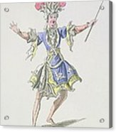 Costume Design For The Magician Acrylic Print