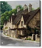 Cotswold Street Acrylic Print