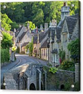 Cotswolds Morning Acrylic Print