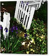 Cottage Entry  Acrylic Print