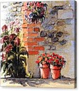 Cottage Garden  Acrylic Print